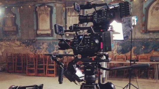 Multiple camera setup