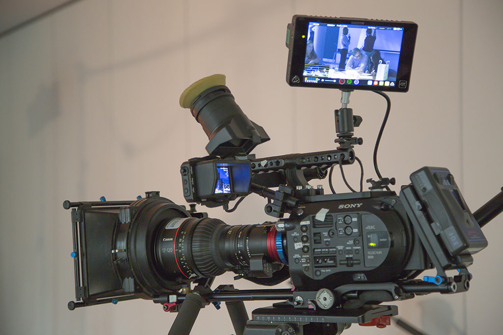 Sony FS7 with CN7 lens
