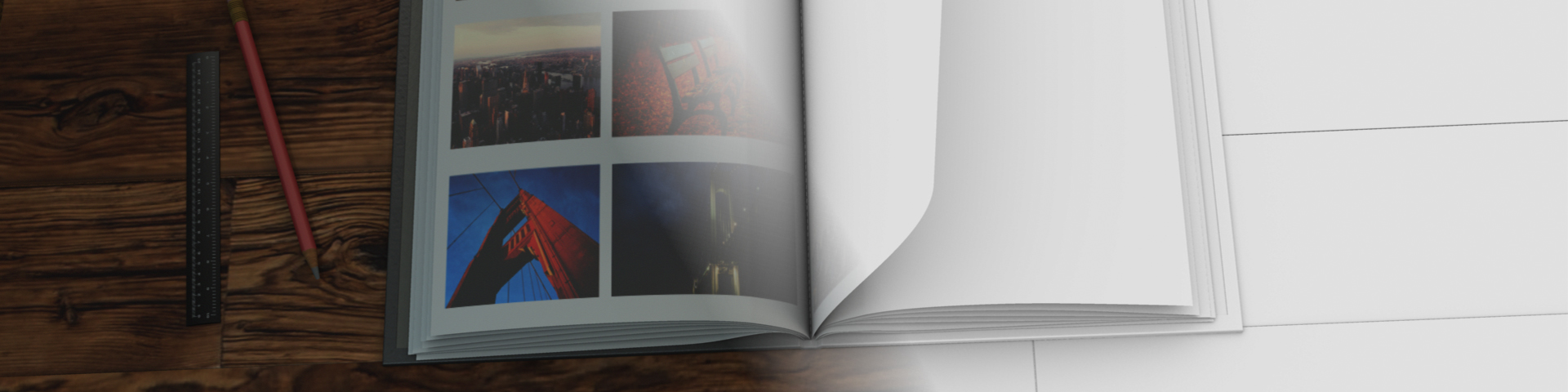 Side Projects: Compositing a CG Photo Book