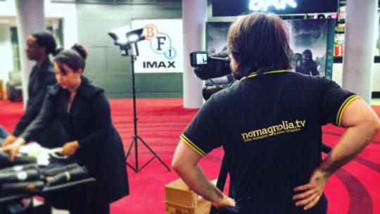 Neil filming