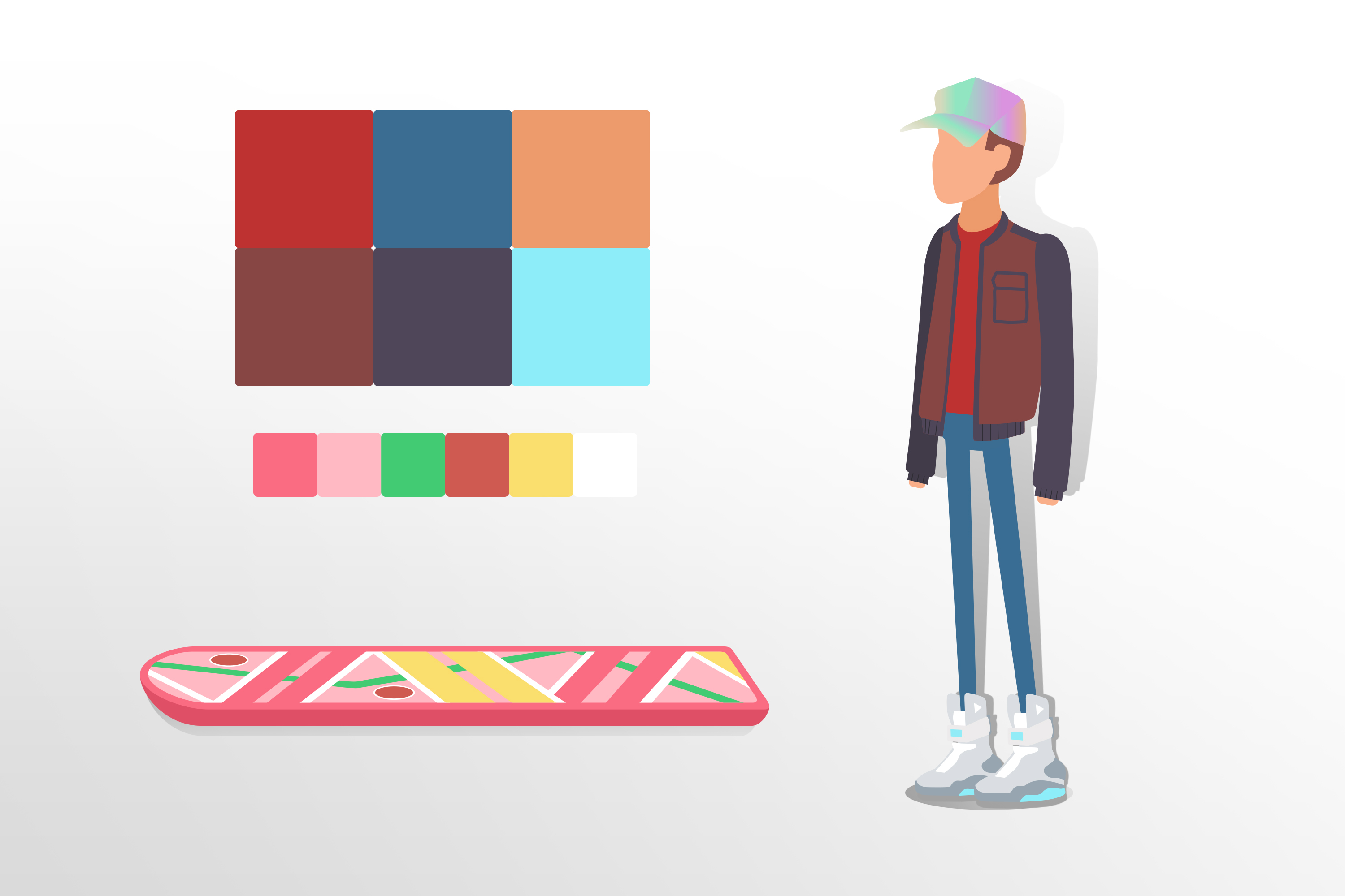 Simple Character Design Illustrator : Design & animate a character with adobe cc no magnolia