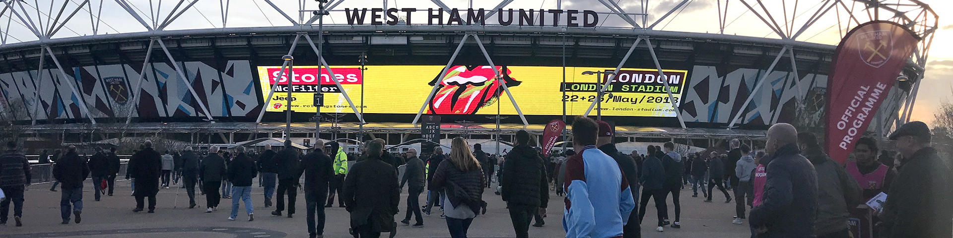 Big Screen Content at London Stadium